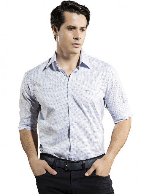 camisa slim manga longa buon giorno marcelo