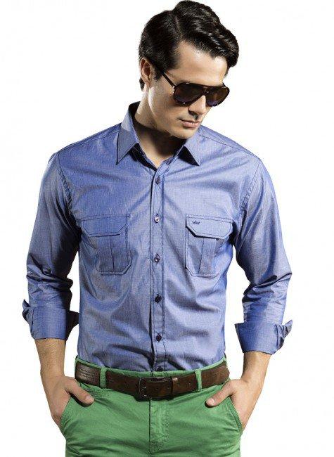 camisa social masculina acetinada gabriel