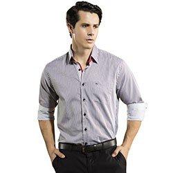 camisa listrada social bruno