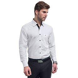 camisa branca social buon giorno carlos