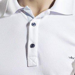camisa polo branca masculina buon giorno henri