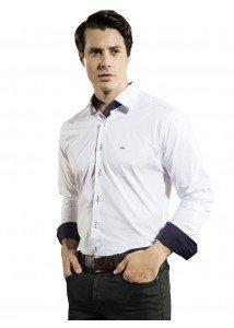 camisa social masculina branca ronald