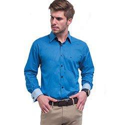 camisa azul royal buon giorno davi