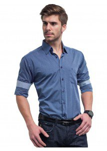 camisa azul jeans buon giorno nicolas