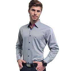 camisa masculina buon giorno cinza wellington