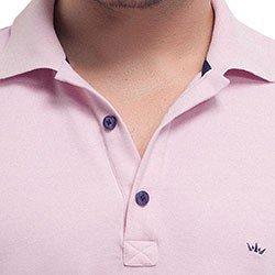 camisa polo rosa buon giorno thiago