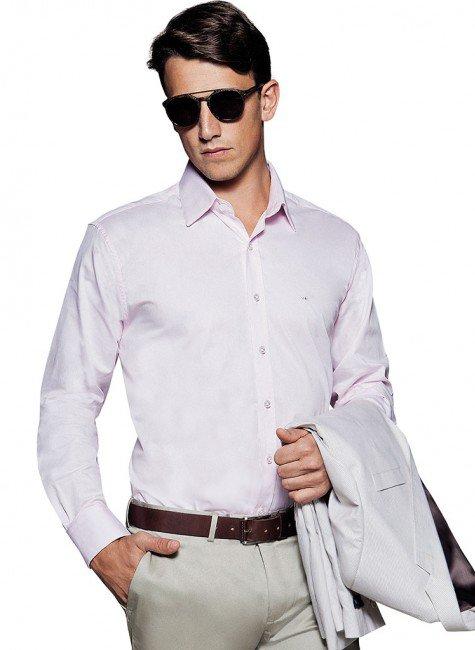 camisa branca masculina social buon giorno vicenzo