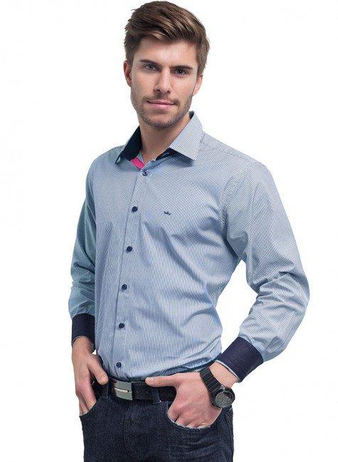 camisa listrada masculina buon giorno enzzo