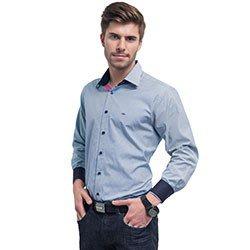 camisa social listrada masculina buon giorno enzzo
