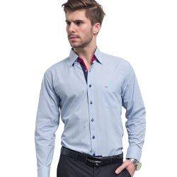 camisa buon giorno azul listrada rafael