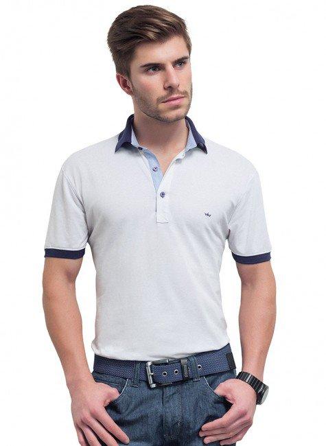 camisa branca buon giorno polo masculina pedro