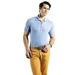 camisa polo azul masculina buon giorno allan