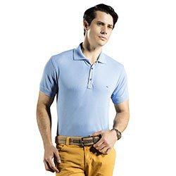 camisa polo azul buon giorno allan