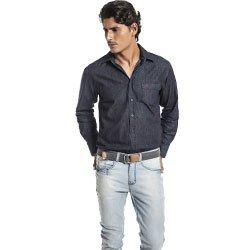 camisa jeans buon giorno emerson