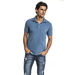 camisa polo azul buon giorno azul clovis