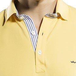camisa gola polo amarela buon giorno richard