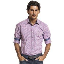 camisa masculina xadrez buon giorno kevin