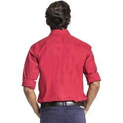 camisa vermelha masculina buon giorno roger