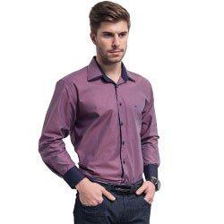 camisa social maquinetada buon giorno luigi