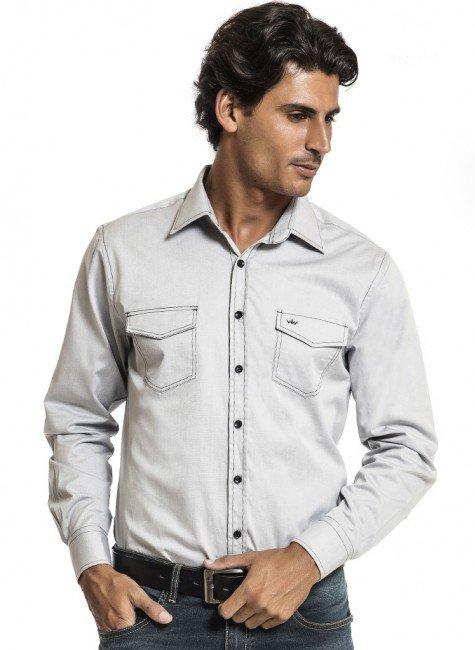 camisa jeans buon giorno roberto