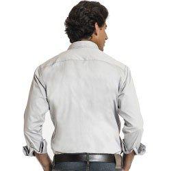 camisa jeans buon giorno masculina roberto