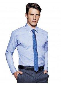camisa azul maquinetada social buon giorno felippe