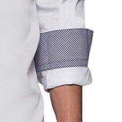 camisa branca masculina social buon giorno lazzaro