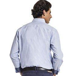 camisa social masculina manga longa buon giorno matheus
