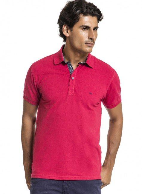 camisa polo vermelha buon giorno caio