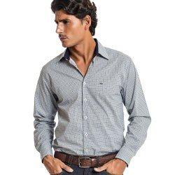 camisa estampada masculina social rodrigo