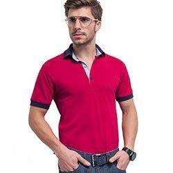 camisa polo vermelha gola polo bryan