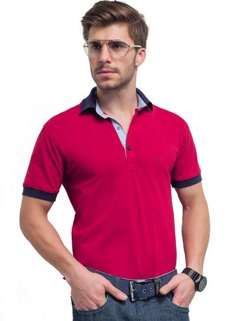 camisa polo vermelha bryan