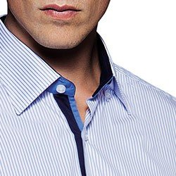 camisa social masculina listrada fabrizio