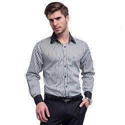 camisa masculina listrada samuel