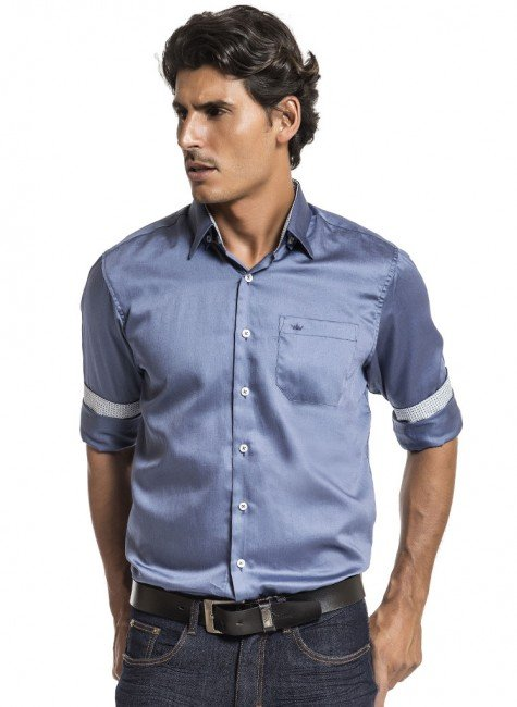 camisa social lisa jonathan