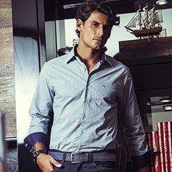 camisa masculina estampada gravataria buon giorno rodrigo