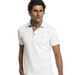 camisa polo masculina branca buon giorno diogo