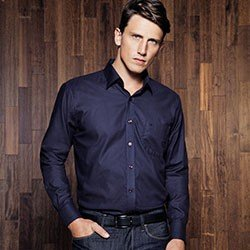 camisa marinho maquinetada buon giorno leandro