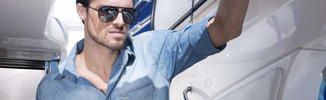 foto conceito camisaria masculina buon giorno jeans dionei