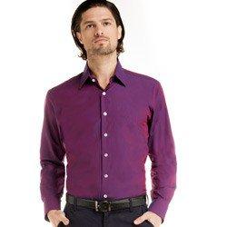 detalhe camisa masculina social manga longa mauro look