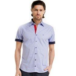 detalhe camisa manga curta masculina buon giorno cleiton look