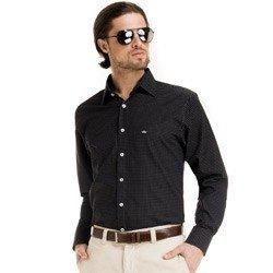 camisa maquinetada masculino social look