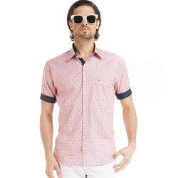 detalhe camisa buon giorno listrada social vermelho jeferson look