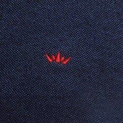 camisa polo buon giorno joao pedro detalhe logo