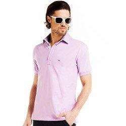 detalhe camisa polo lilas masculina buon giorno corpo