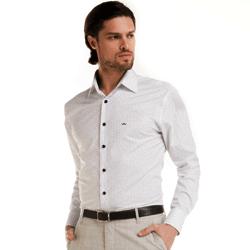 detalhe camisa buon giorno estampa poa social branca look