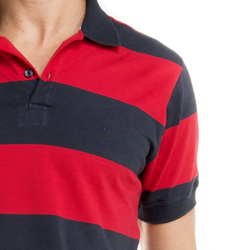 detalhe camisa polo masculina buon giorno punho