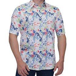camisa floral joaquina buon giorno