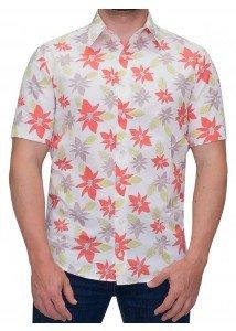 camisa masculina estampada buon giorno kaimu
