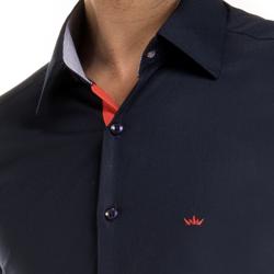 detalhe camisa preto masculina buon giorno social ronaldo